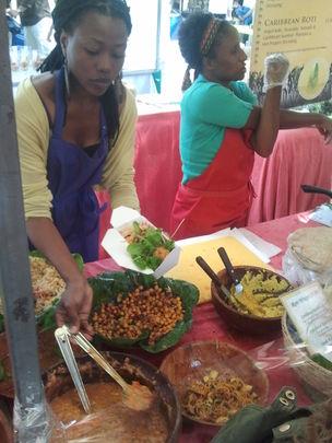 Saturday farmers market .... Saatchi Gallery