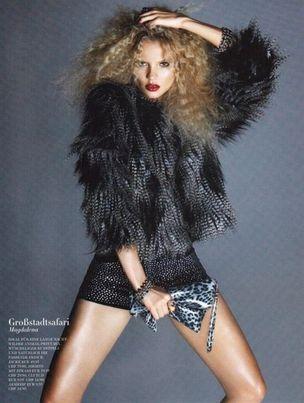 MUNICH MODELS : Magdalena FRACKOWIAK for H&M MAGAZINE
