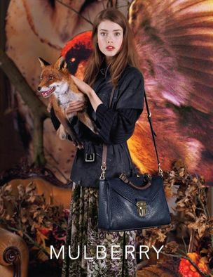 MUNICH MODELS : Julia SANER for MULBERRY