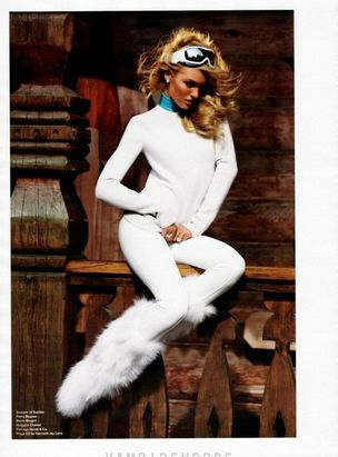 MUNICH MODELS : Candice SWANEPOEL for V MAGAZINE
