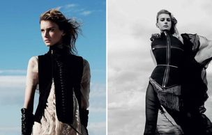 MUNICH MODELS : Sigrid AGREN for MUSE MAGAZINE
