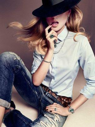 MUNICH MODELS : Charlotte Di CALYPSO for VOGUE SPAIN