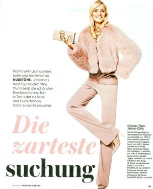 MUNICH MODELS : Yfke STURM for INSTYLE
