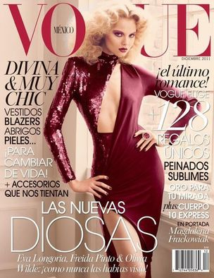 MUNICH MODELS : Magdalena FRACKOWIAK for VOGUE MEXICO
