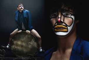 "LUNDLUND : JULIA HETTA for ACNE PAPER ""CIRCUS MAXIMUS"""
