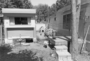 Andrew Borowiec : Along the Ohio - Marietta, Ohio, 1996