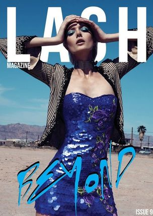 EAST WEST MODELS : Anastassija MAKARENKO for LASH MAGAZINE