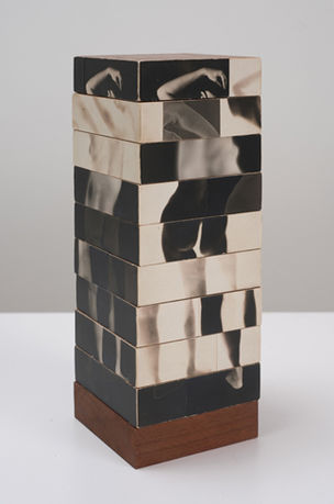 CHERRY AND MARTIN : Robert Heinecken, Fractured Figure Sections, 1967 (Photography into Sculpture)