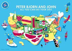 AGENT MOLLY & CO : Andreas SAMUELSSON for PETER BJOERN & JOHN