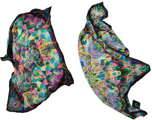 CARNOVSKY presents RGB Silk Scarves
