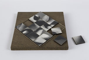 CHERRY AND MARTIN : Robert Heinecken, Mutliple Solution Puzzle, 1965 (Photography into Sculpture)