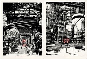 1ST UNIT : LIMITED SIGNED ART PRINTS ON SALE by Gregori SAAVEDRA