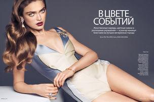 ASA TALLGARD for ELLE RUSSIA (January 2012)