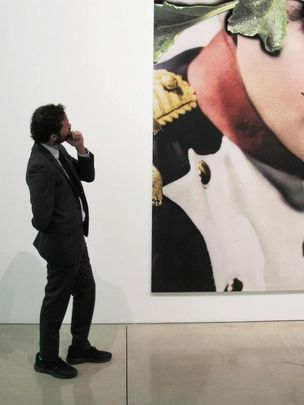 GAGOSIAN GALLERY : Urs Fischer - Beds & Problem Paintings (Feb 23 - April 7, 2012)