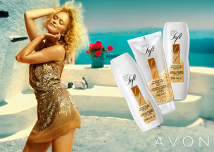 EAST WEST MODELS : ZOSIA P. for AVON