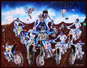 SPERONE WESTWATER : Malcom MORLEY -  2008, Blueboys