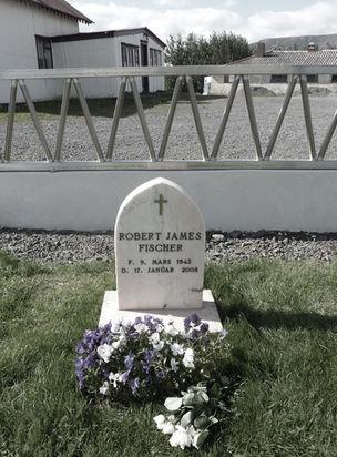Bobby Fischer's grave