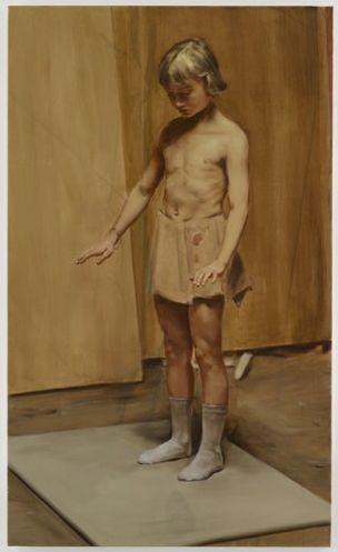 GALLERY DAVID ZWIRNER : Michael Borremans 'The Devil's Dress'