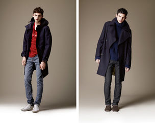 VIVA MODELS : TOM Nicon for BURBERRY BRIT