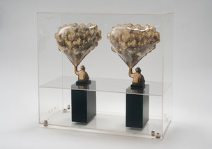CHERRY AND MARTIN : Carl Cheng, Sculpture for Stereo Viewers, 1968 (Photography into Sculpture)