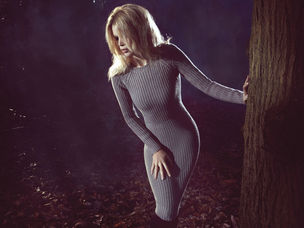 LUNDLUND : Camilla AKRANS for CLAUDIA SCHIFFER CASHMERE COLLECTION AW 2011