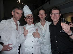 UPdate After Party & Live Cooking at Saatchi & Saatchi