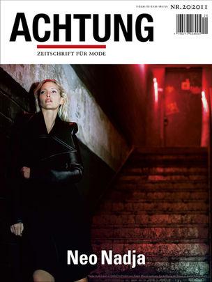 VIVA MODELS : Nadja Auermann for ACHTUNG