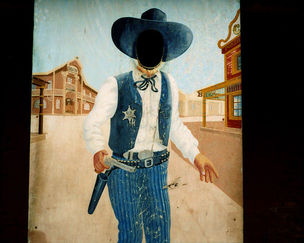 Host Gallery, London : Aaron Schuman 'Once Upon a Time in the West'