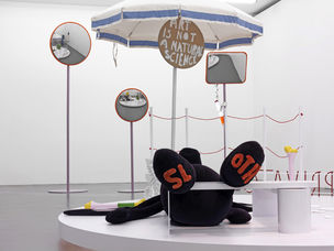 Cosima von Bonin, AMATEUR DRAMATICS (WDW'S LAZY  SUSAN VERSION & MVO'S BONE BEATS), 2010