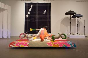 Cosima von Bonin, Installation view, Arnolfini, Bristol 2011
