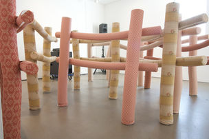 Cosima von Bonin, SOFT FENCES (# 1 - 8), 2000