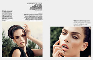 CLOSE UP AGENCY : Sidsel Marie BOG for ELLE