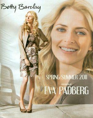 MUNICH MODELS : EVA Padberg for BETTY BARCLAY