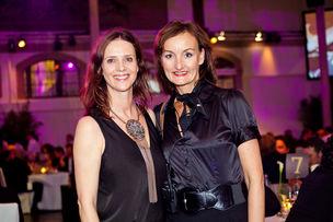 Winner Dinner 2011 : Britta Poetzsch (M.E.C.H. Communications), Katja Garff (WerbeWeischer)