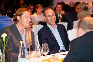 Winner Dinner 2011 :  Nils Wulf (Jost von Brandis), Matthias Dimke (General Mills GmbH)