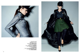ANIMA CREATIVE MANAGEMENT : Jenny REI & Dimitra ALTANI for HARPERS BAZAAR INDIA