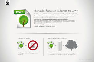 CANNES LIONS 2011 : SAVE AS WWF