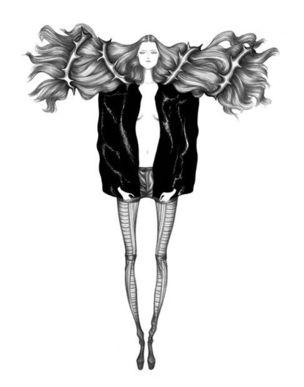 Gallery Hanahou presents Fashion Illustration: Visual Poetry