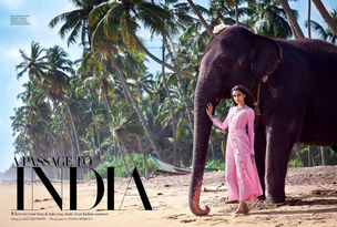 ANIMA CREATIVE  MANAGEMENT : Kanishtha DHANKHAR for HARPERS BAZAAR