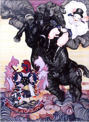 Galerie Anita Beckers : CORNELIA RENZ, 'Heaven'