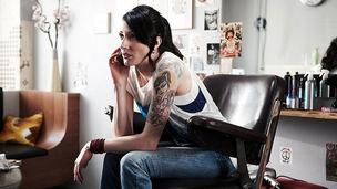 Peggy Kurka für Vodafone