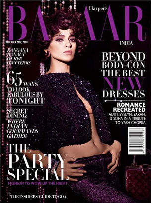 ANIMA CREATIVE  MANAGEMENT : Gabriel GEORGIOU for HARPERS BAZAAR INDIA