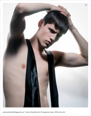 VIVA MODELS : LUCIEN Thomkins for H Magazine