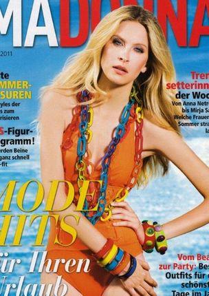 MUNICH MODELS : Laura LESHEL for MADONNA