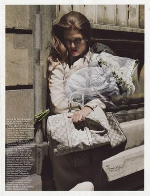 MUNICH MODELS : MALGOSIA Bela for VOGUE