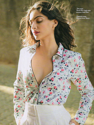 ANIMA CREATIVE  MANAGEMENT : Mara DESIPRIS for MARIE CLAIRE INDIA