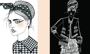 LUNDLUND : Liselotte WATKINS for MUSE MAGAZINE
