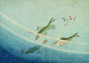 Album mit zehn Malereien © Katsushika Hokusai Museum of Art
