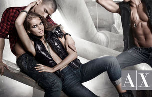 MUNICH MODELS : MICHAELA Hlavackova for ARMANI EXCHANGE