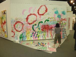 Art Cologne : Ayako Rokkaku
